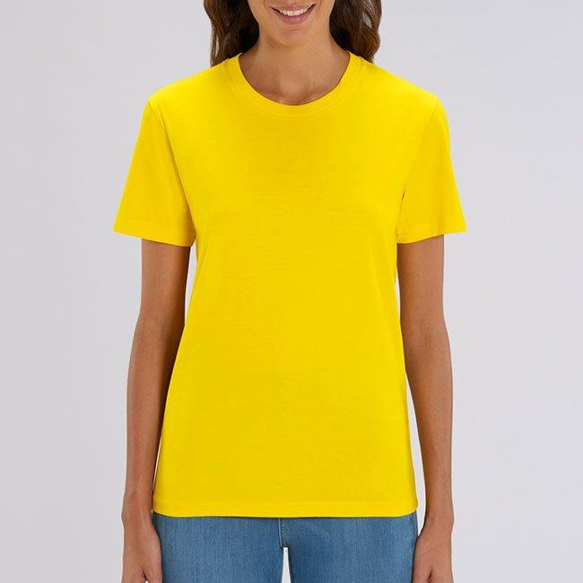 unisex t-paita keltainen