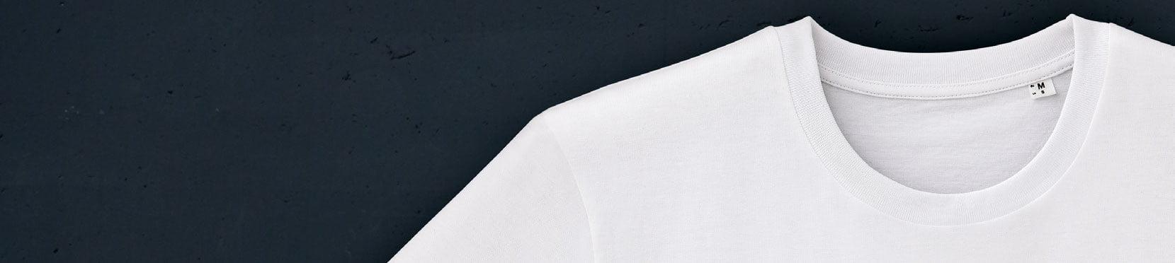 valkoinen luomupuuvilla t-paita