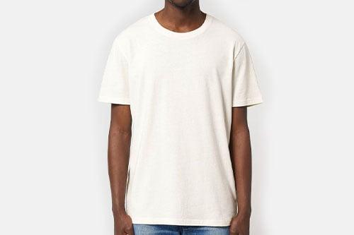kierrätetty luomupuuvilla t-paita