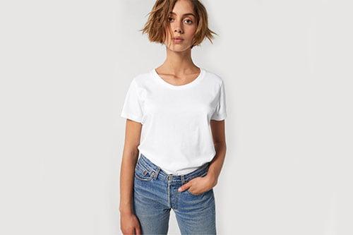 naisten luomu t-paita